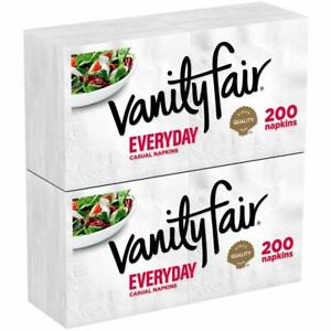 Vanity-Fair-Everyday-Paper-Napkins-400-Count-Disposable-White-Napkins-2-Pack