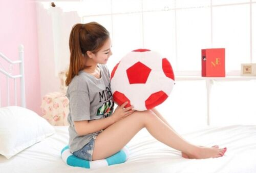 2018 World Cup Soccer Soft Stuffed Plush Toys Pillow Cushion Kids Gifts 6 Colors