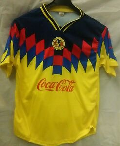 7aabea884b2 Image is loading Club-America-Aguilas-Retro-Playera-90s-SMALL