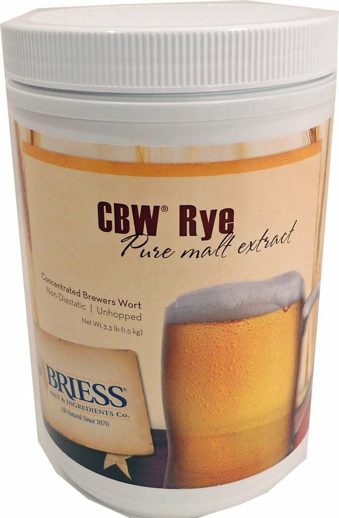 Briess Rye Liquid Malt Extract, 3.3lb for Home Brew Beer Making 2