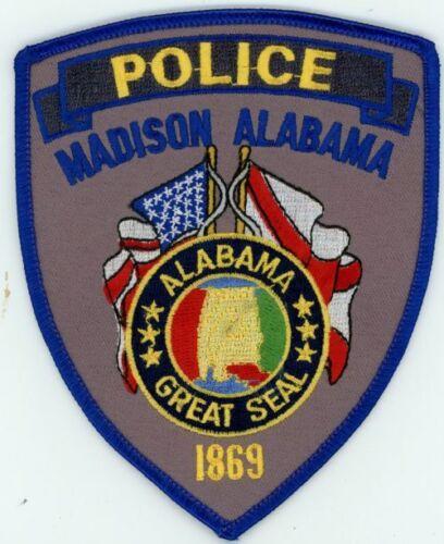 MADISON POLICE ALABAMA AL COLORFUL PATCH SHERIFF