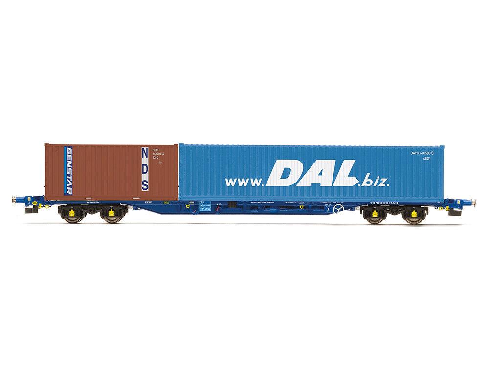 Hornby r6849 carri merci KFA Container Vagone tiphook