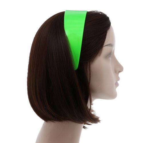 Wide Hard Headbands Vibrant Colorful Girls 2 Inch Hair Band Accessories w// Teeth
