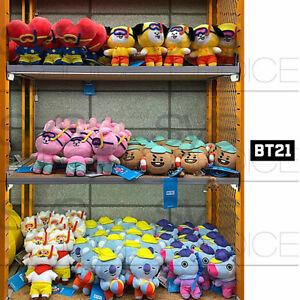BTS BT21 Official Authentic Goods Von Voyage Summer Doll 15cm 5.9in 7SET