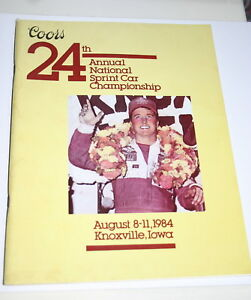 1984-24TH-ANNUAL-KNOXVILLE-NATIONALS-OFFICIAL-PROGRAM-SAMMY-SWINDELL-amp-MORE
