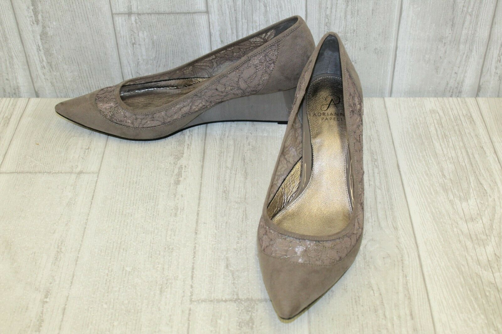negozio d'offerta Adrianna Papell Langley Pointed Toe Heels - - - Donna  Dimensione 11M - grigio  essere molto richiesto