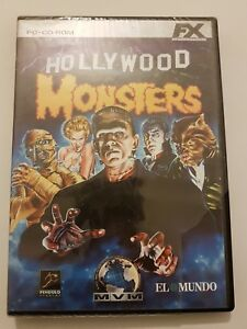 Hollywood-Monsters-para-pc-ordenador-pal-Espana-Nuevo-y-Sellado