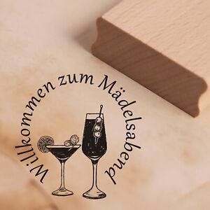 Lampion Motivstempel Geburtstag Familie Gäste Stempel Einladung für dich 48x27