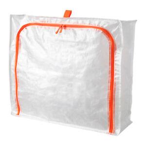 Storage-Bag-Plastic-Case-Zip-Bag-Store-Clothes-Shoes-Bedlinen-IKEA-PARKLA-NEW