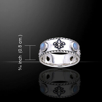 Dive Flag Scuba .925 Sterling Silver Ring by Peter Stone