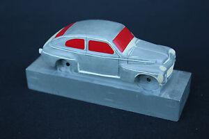 Modele Voiture Miniature Volvo Pv544 1/43 Resine Heco Modeles Véhicule Bg