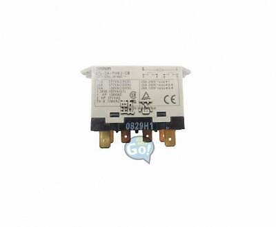 OMRON G7L-2A-TUBJ-CB-DC24 Enclosed Power Relay,6 Pin,24VDC,DPST-NO
