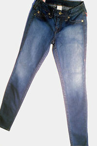 True-Religion-Jeans-039-HALLE-SUPER-SKINNY-039-Size-27-NEW-RRP-299-Womens-or-Girls
