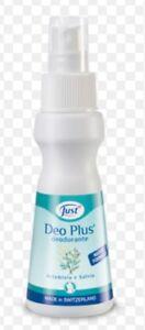 Just deodorante no gas Deo Plus unisex no alluminio spray PRONTA CONSEGNA nuovo