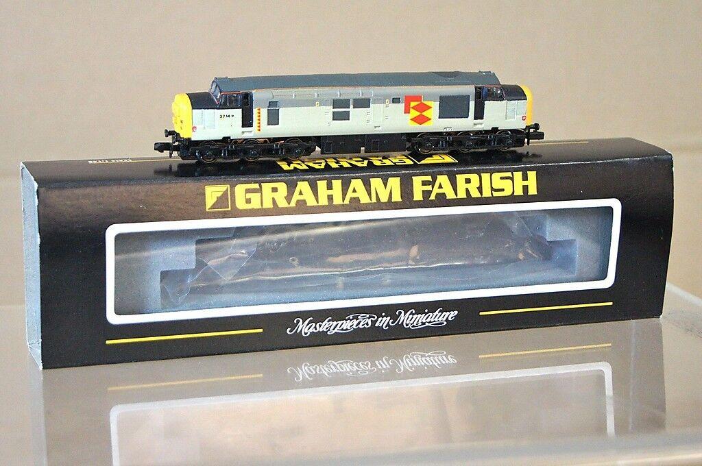 Graham Farish 371-154 Cjm Railfreight Classe 37 5 Locomotive 37147
