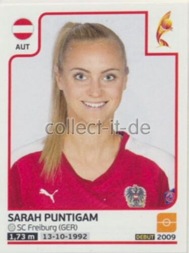 Sticker 228 Sarah Puntigam Frauen EM2017 Österreich