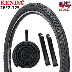 KENDA Mountain Bike Tire 26*2.125 inch Durable Clincher Bicycle Tyre Inner Tube