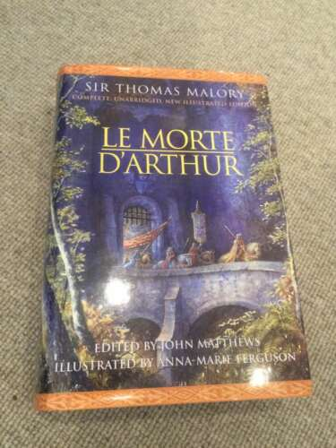 1 of 1 - Thomas Malory LE MORTE D'ARTHUR hardback 2000 Cassell Moorcock; illustrated Ferg