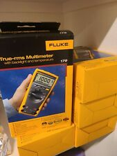 Fluke 179 True Rms Multimeter With Backlight And Temperature