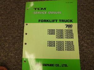 Tcm 700 series fg fd fhg fhd forklift lift truck shop service repair image is loading tcm 700 series fg fd fhg fhd forklift fandeluxe Choice Image