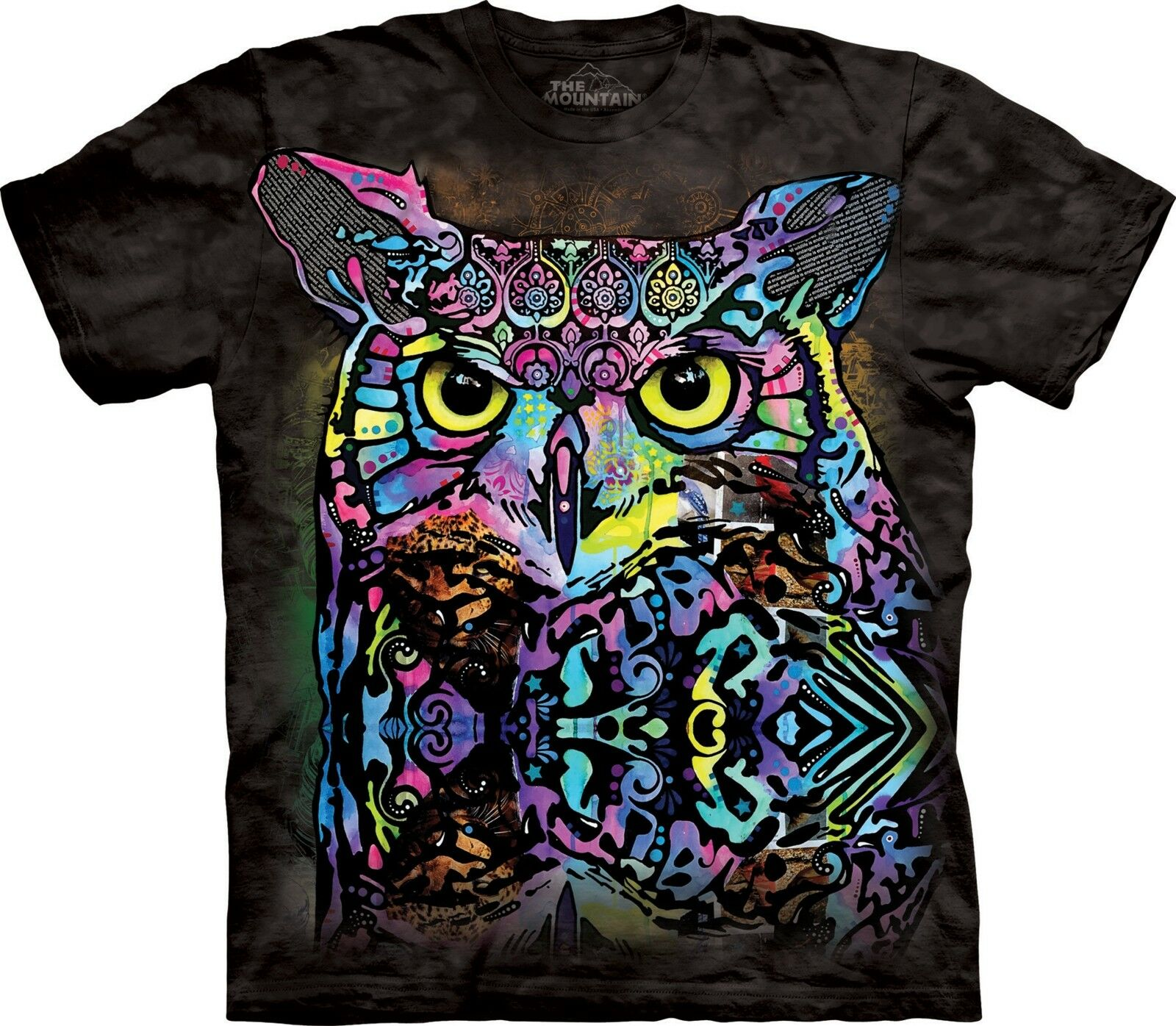 The Mountain Unisex Adult Russo Owl Dean Russo T Shirt