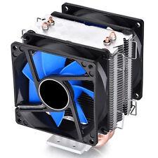 Dual Fan CPU Quiet Cooler Heatsink for AMD FM2 FM1 AM3+AM3 AM2+AM2 940 939/754 W