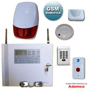 Antifurto senza fili kit allarme wireless combinatore - Allarmi casa senza fili ...