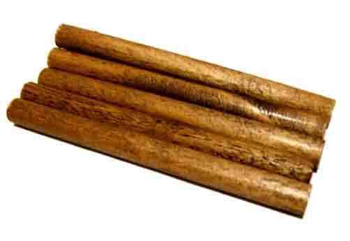 """WOOD LOGS Stained 1/2"""" x 6"""" for Lionel O, O27 Trains 5x"""