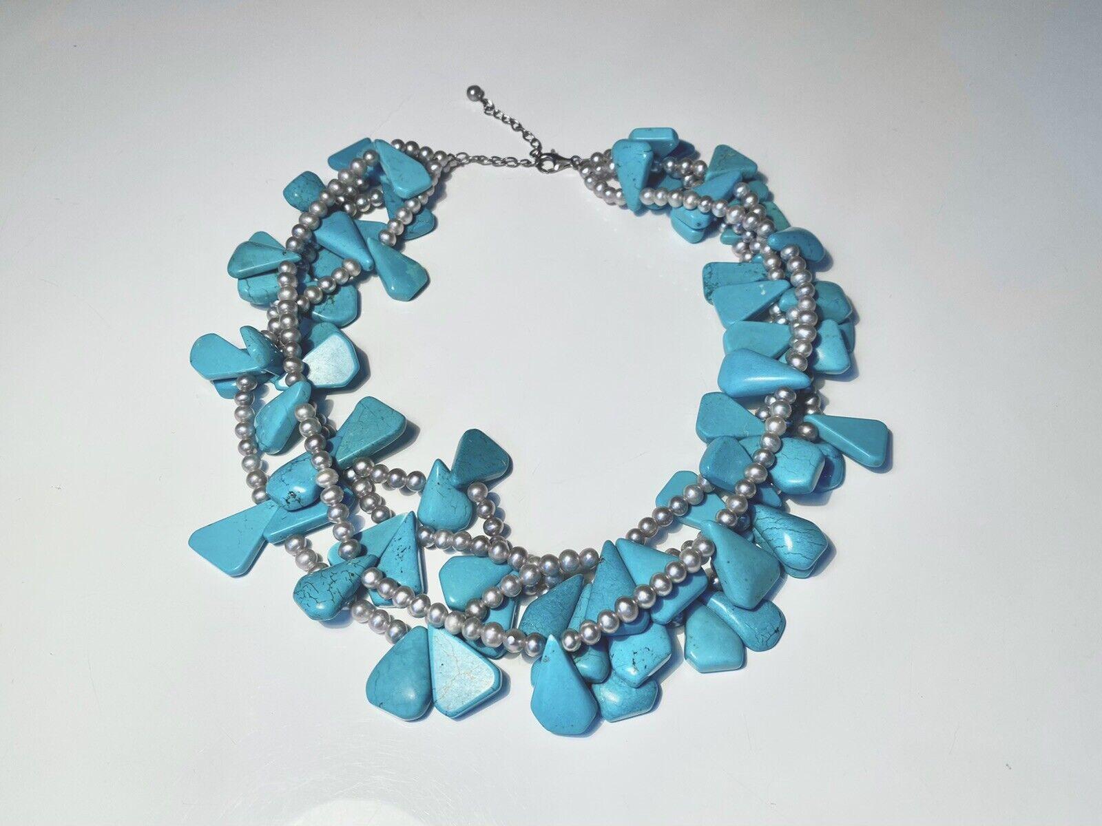 Diana Venezia Turquoise Necklace - image 2