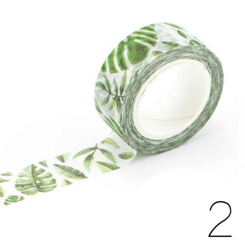 Neue 1 7 Mt DIY Blume Katze Papier Klebrige Klebstoff Stickerative Washi Klebeba