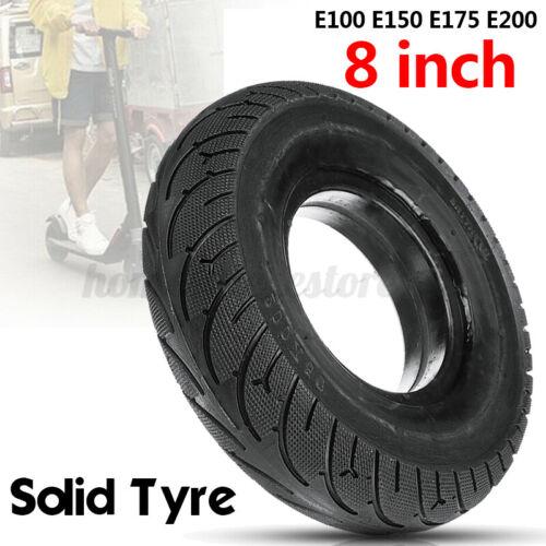 200x50mm//8/'/'x2/'/' Scooter Tyre Tire Tubeless Solid No Flats E100 E150 E175 E200