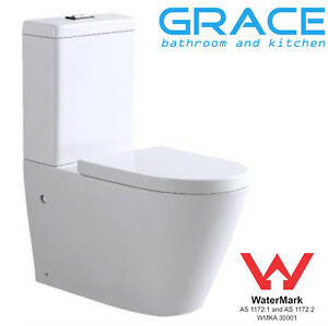 Toilet-Suite-New-WELS-Back-to-Wall-Ceramic-soft-closing-seat-S-P-trap