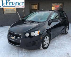 2013 Chevrolet Sonic LS 47$ PAR SEMAINE! 0$ COMPTANT