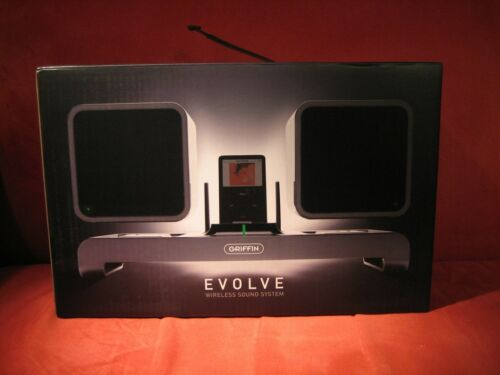 Griffin Evolve Wireless Sound System With Remote New Open Box -- FREE SHIPPING