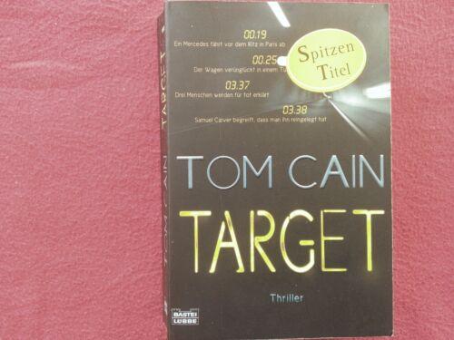 1 von 1 - TARGET--dramatisch packender WELT-THRILLER--TOM CAIN