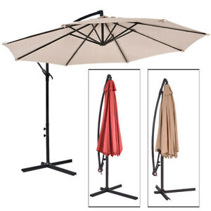 Sombrilla-Parasol-3-metros-Terraza-Jardin-Patio-Ajustable-Proteccion-Solar-UV