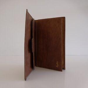 Portefeuille-cuir-BUFALO-homme-vintage-art-deco-1930-1970
