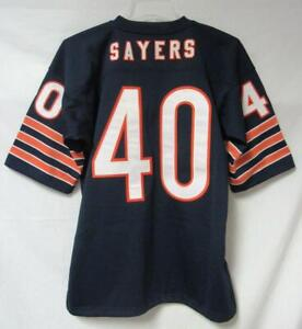 watch cbeb1 78637 Mitchell & Ness Chicago Bears Mens Size Large Gale Sayers ...