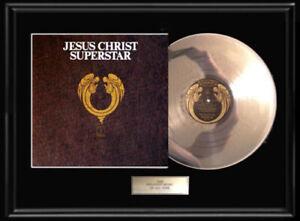 JESUS-CHRIST-SUPERSTAR-SOUNDTRACK-LP-WHITE-GOLD-SILVER-PLATINUM-TONE-RECORD