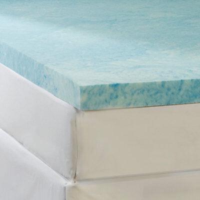 """Soft Sleeper 6.5 Twin XL 2/"""" Memory Foam Mattress Pad"""