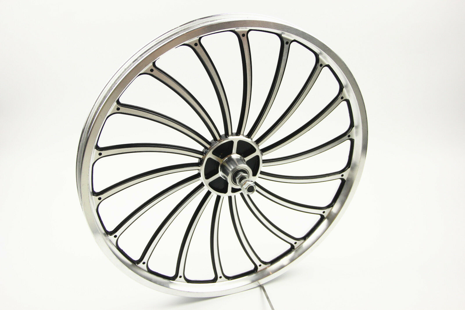 Bike  Bicycle Front Wheel 20 X 1.75 2.125 2.5'' Scooter eBike Chopper  professional integrated online shopping mall