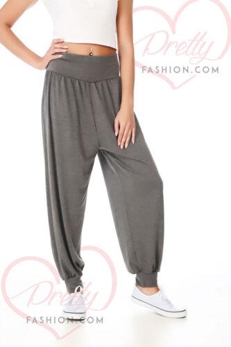 Prettyfashion Donna Harem Pantaloni Ali Baba Pantaloni Lunghi Donna Ragazze Baggy 8-22