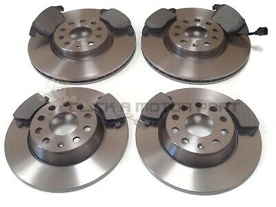 VOLKSWAGEN CADDY 2010-2015 PAIR OF REAR SOLID 272mm BRAKE DISCS AND REAR PADS