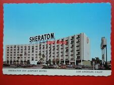 POSTCARD USA LOS ANGELES - SHERATON INN AIRPORT HOTEL