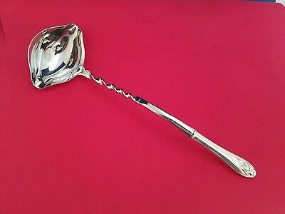 "Lily of the Valley by Whiting Sterling Silver Punch Ladle Twist 13 3//4/"" Custom"