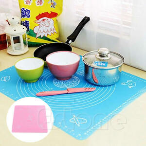 Silicone-Fondant-Rolling-Clay-Pastry-Icing-Dough-Cake-Tool-Sugarcraft-Cut-Mat