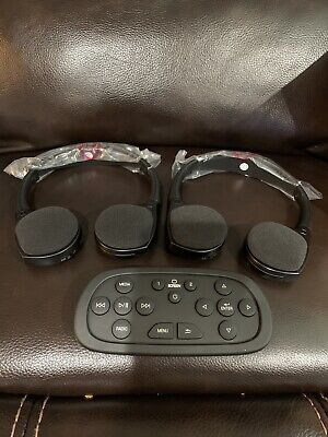 GM Chevy GM Cadillac Video Entertainment System 2 Headphones 1 Remote 23141413