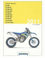 Husaberg service manual 2011 FX450 & FE 570 EU, AUS, USA