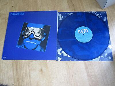 Uk Subs Another Kind Of Blues Vinyl Lp Blue Vinyl Gem 1979