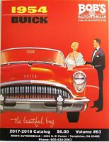 Buick 1925 Thru 1958 128 Page Catalog Of Parts We Stock